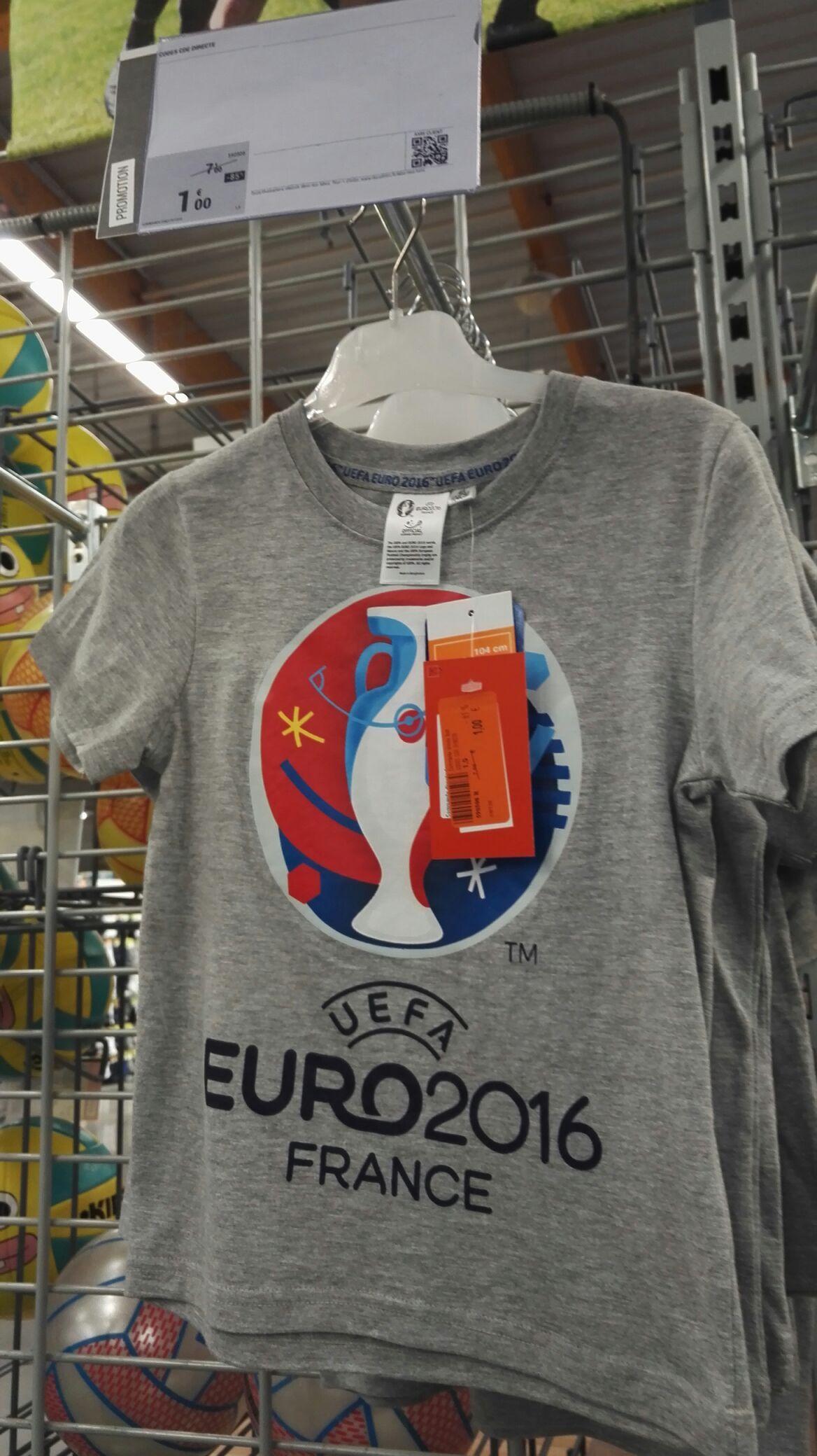 T-shirt enfants Euro 2016