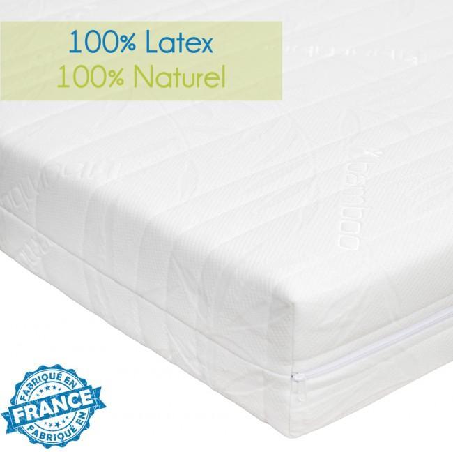 Matelas latex 100 naturel novopur 140x190cm - Matelas latex 100 naturel ...