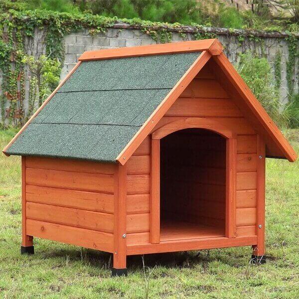 Niche pour chien Toutou - en bois, 78x88x81 cm