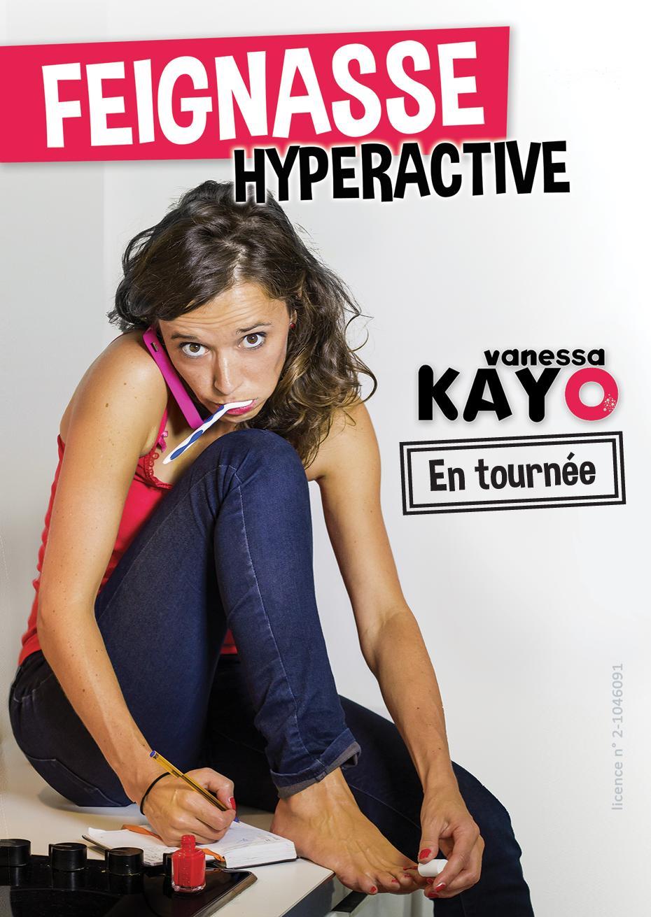 Billet pour le spectacle de Vanessa Kayo Feignasse Hyperactive - jeudi 19 janvier (20 h), à la Comédie des Boulevards (Paris)