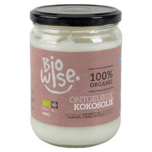 Pot d'huile de coco biologique BioWise - 400 g