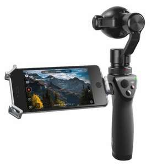 Perche Stabilisateur DJI Osmo+ Plus avec Caméra 4K