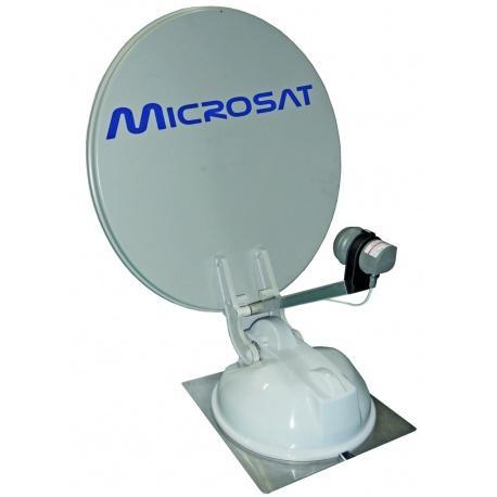 Antenne satellite automatique pour camping-car / caravane / bateau