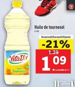 huile colza lidl