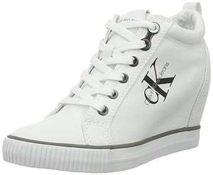 Baskets Calvin Klein Ritzy Canvas White sw2DAGOX