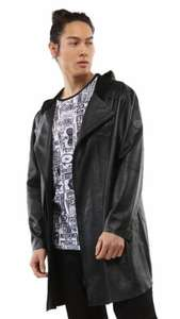 Manteau Redskins Corona Litecia - en cuir (taille L)