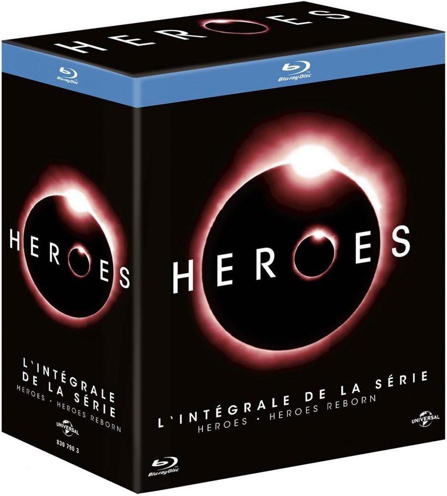 Coffret Blu-ray Heroes + Heroes Reborn - L'intégrale des Saisons