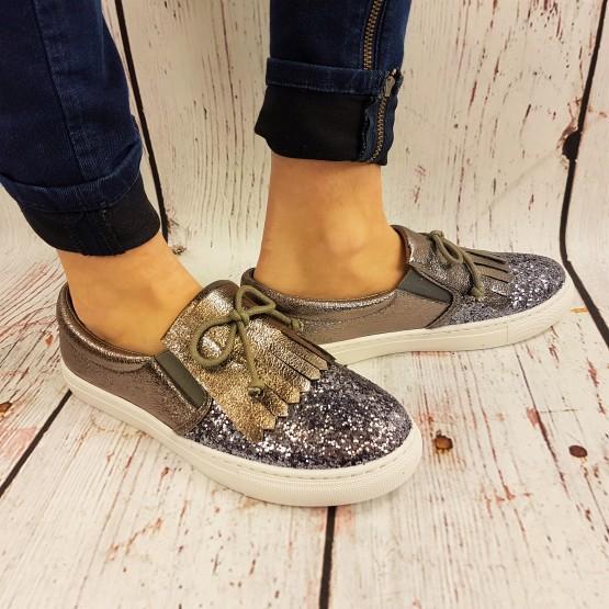 Chaussures pour Femme Gliters - Argent