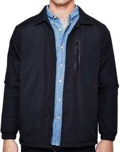 Veste homme The Idle Man Coach Jacket - Noir