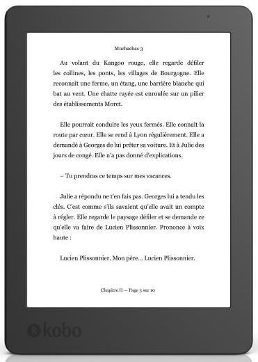 Liseuse Kobo Aura 2ème édition