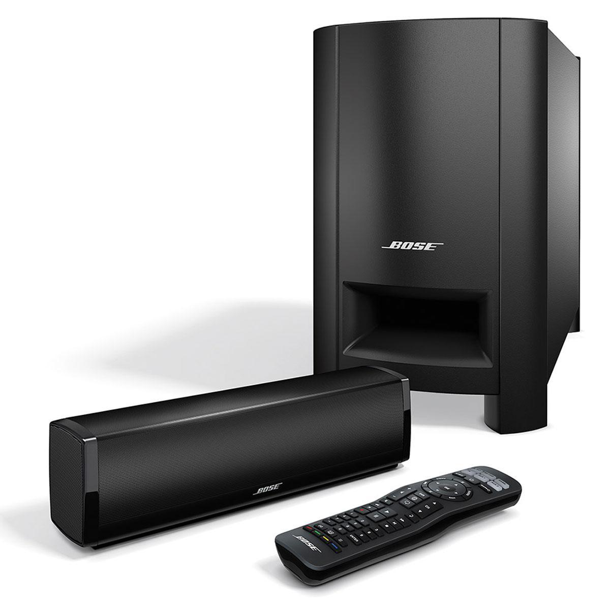Système d'enceintes Home Cinema Bose CineMate 15 - Noir