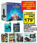 Pack Console Xbox 360 4 Go + Kinect + 7 jeux