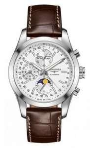 Montre chronographe Longines Conquest Classic Moonphase