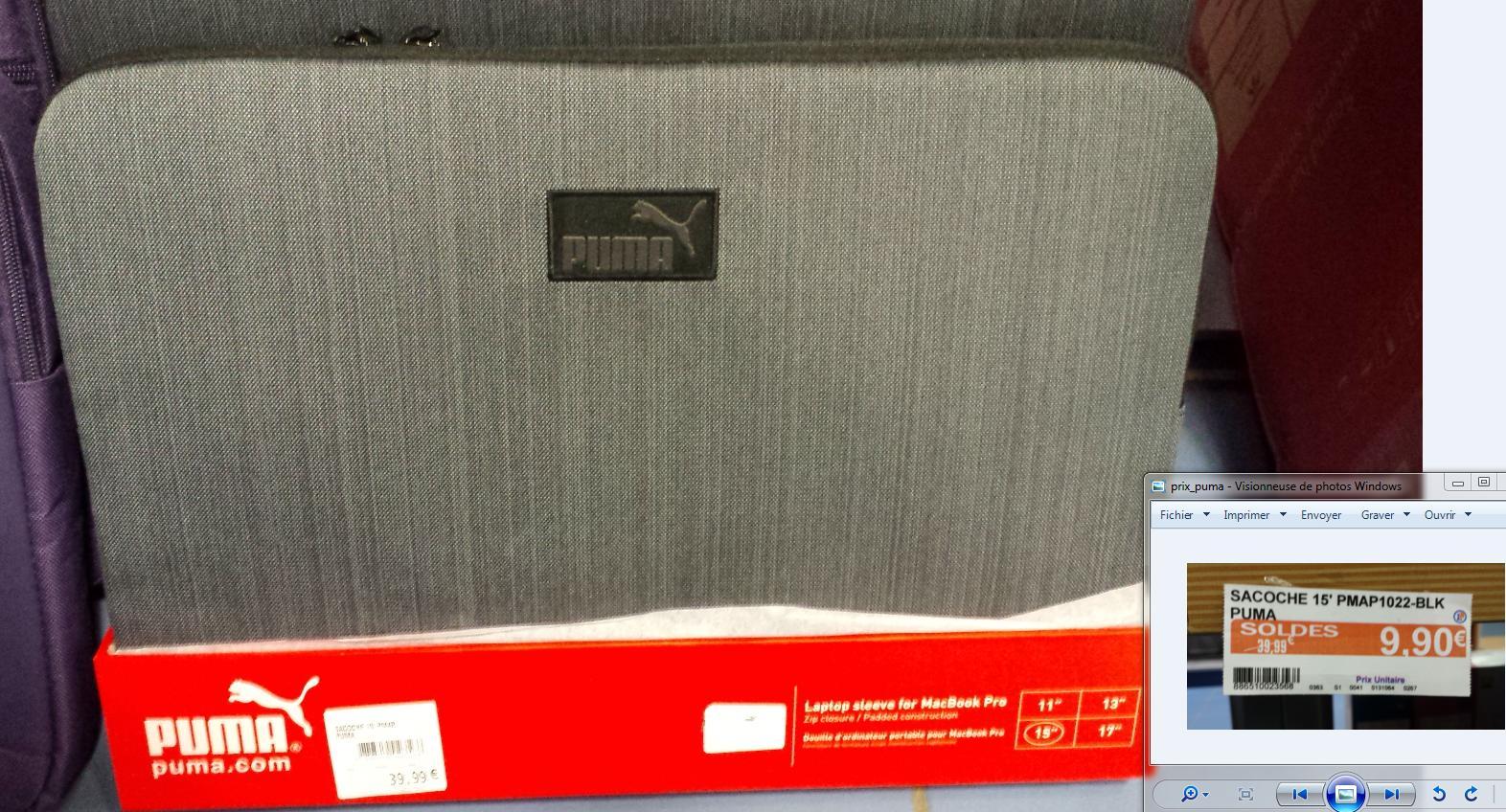 """Sacoche Puma pour Macbook Pro 15"""""""