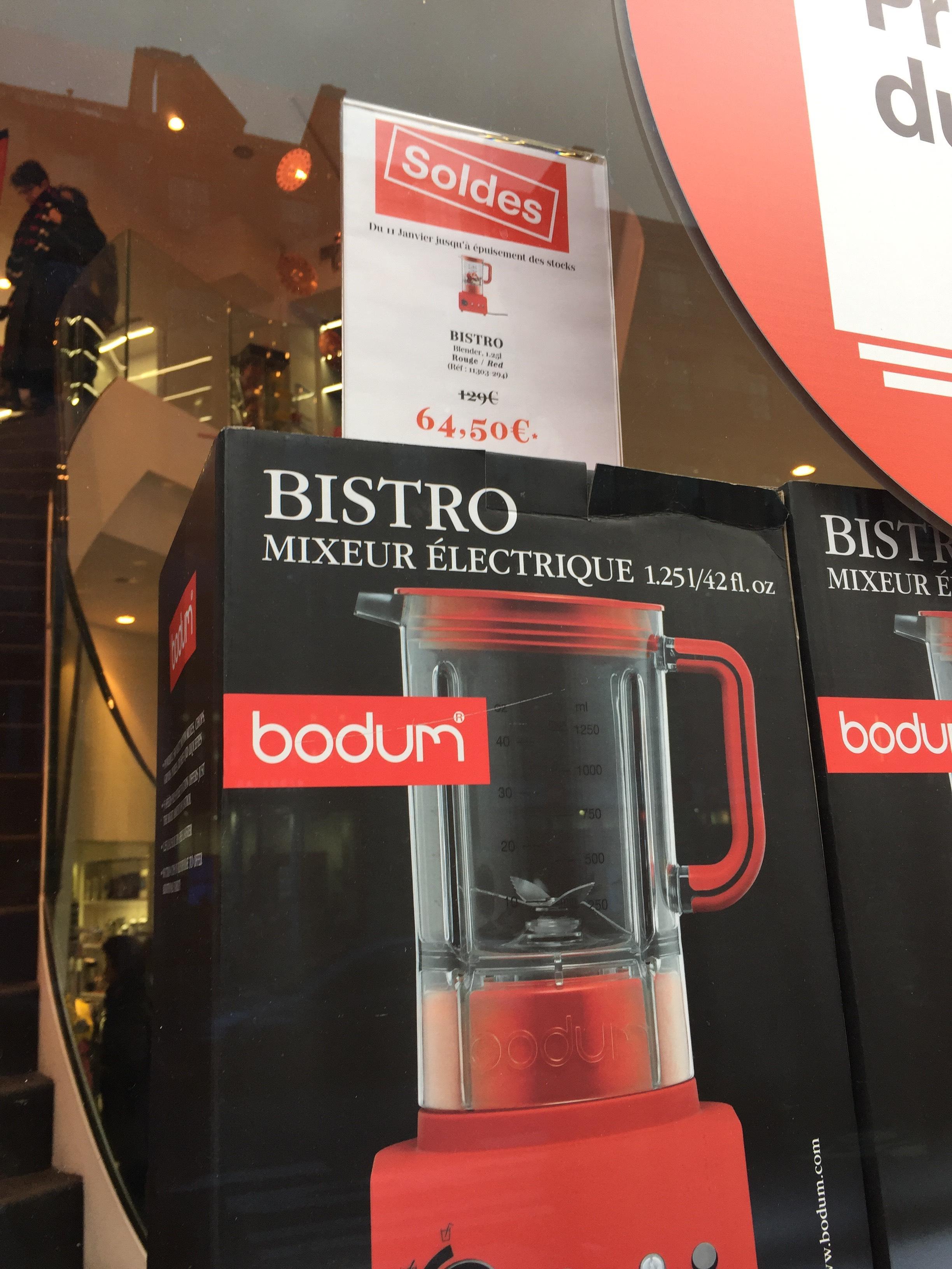 Blender Bodum Bistro - Rouge