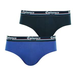 Lot de 2 slips Eminence Duo Club - Bleu ou rouge