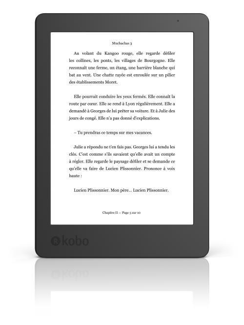 Liseuse numérique Kobo Aura 2 + Étui (plusieurs coloris)
