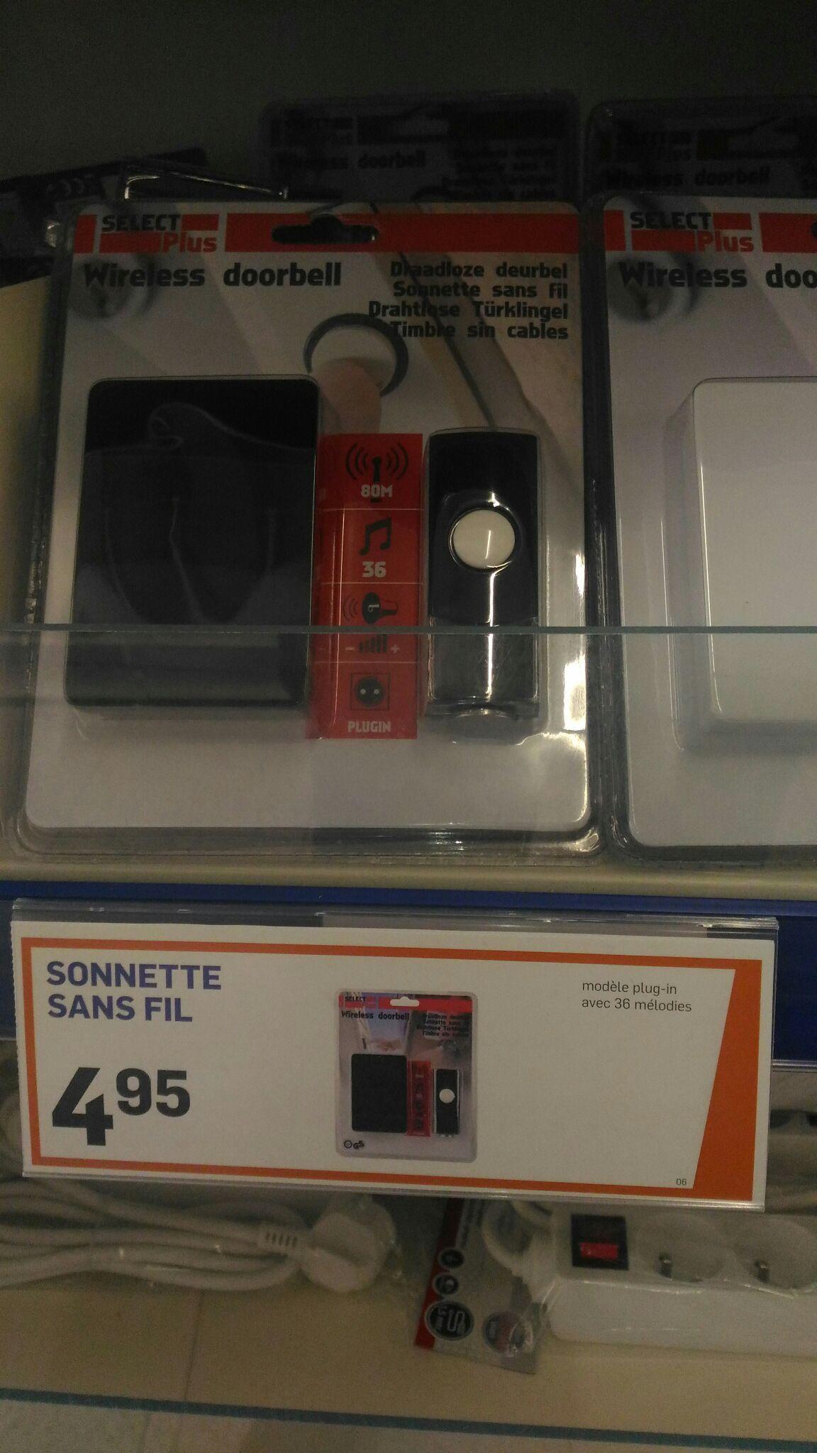 Sonnette sans fil Select Plus