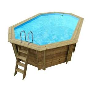 Piscine hors sol cordoue en bois dimensions x 2 for Piscine hors sol cordoue