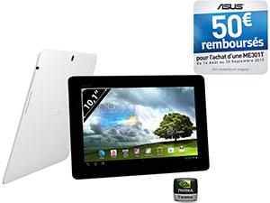 "Tablette Asus ME301T MeMo Pad 10,1"" - Tegra 3 Quad Core - 1Go de ram - 16 Go - Android 4.1 (avec ODR 50€)"