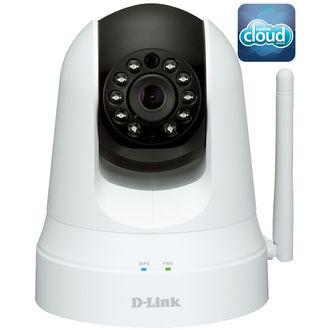 Caméra IP panoramique D-Link DCS-5020L WiFi N Mydlink jour/nuit & répéteur WiFi