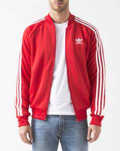 Veste Adidas Originals Superstar Tracktop - Rouge