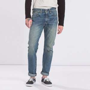 Jeans homme 501 CT Selvedge Jeans Porch Coffee