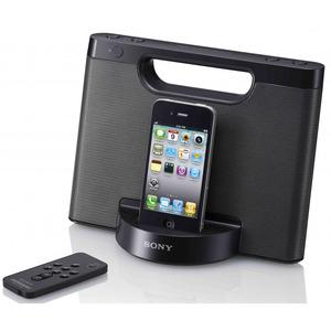 Station d'accueil compacte Sony RDP-M5IPB pour iPod / iPhone