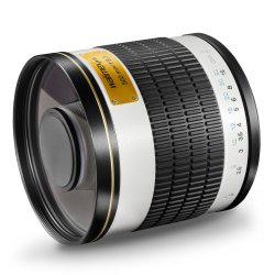 Objectif Walimex Pro 500mm f/6,3 DX - Compatible tout reflex via bague -
