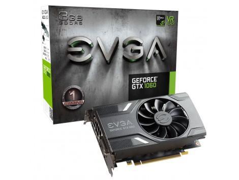Carte graphique EVGA GeForce GTX 1060 Gaming - 3 Go DCDR5