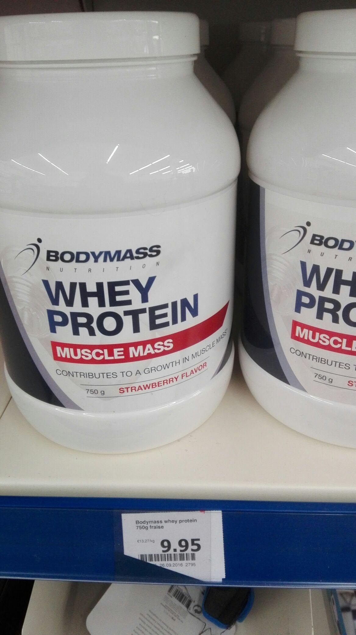 Bodymass Whey Protein - Fraise (750g)