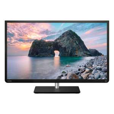 """TV LED 32"""" Toshiba 32L4333 HDTV 1080p - Cloud TV, Wifi, AMR 100Hz, 4 HDMI, 1 USB (Après ODR)"""