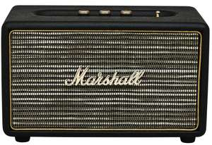 enceinte bluetooth marshall action noir 50w. Black Bedroom Furniture Sets. Home Design Ideas