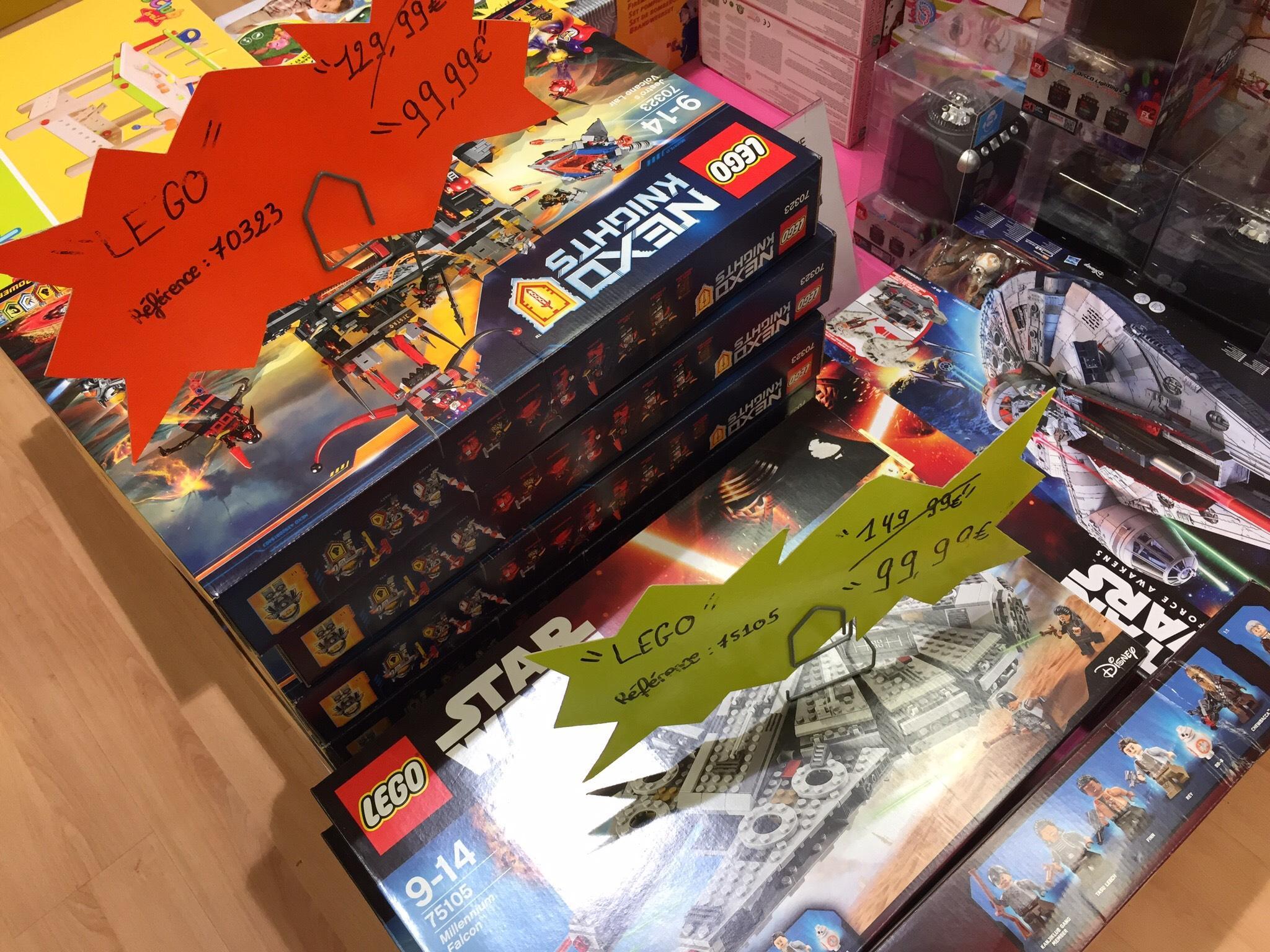 Sélection de jouets Lego en promotion - Ex : Lego 75105 Millennium Falcon