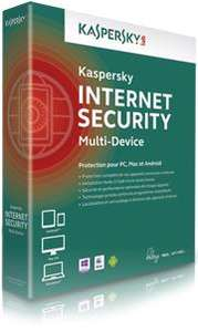 Kaspersky Internet Security Multi-Device - Licence 3 postes - 1 an