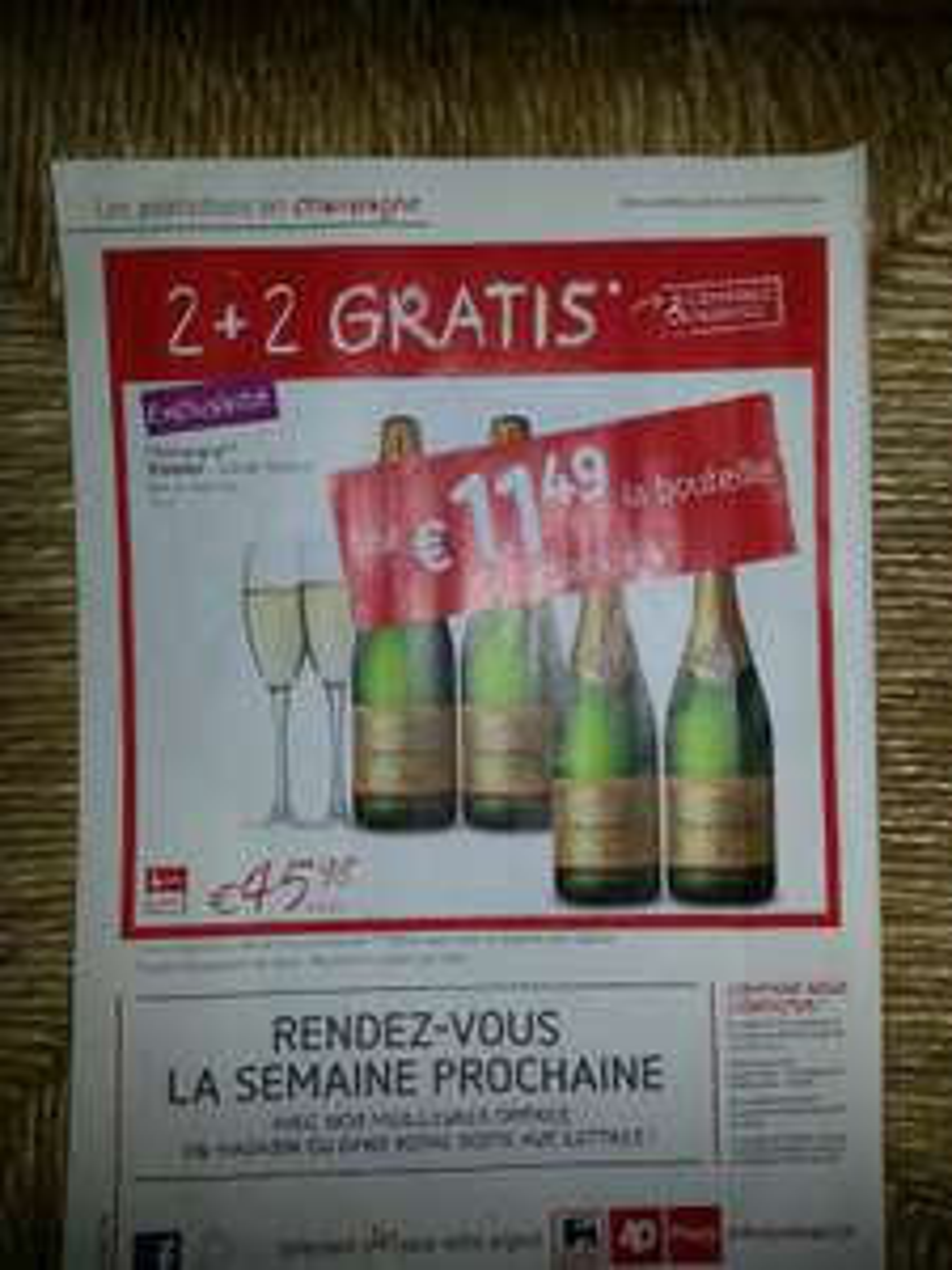 Champagne Vranken - Grande Réserve Brut ou demi-sec