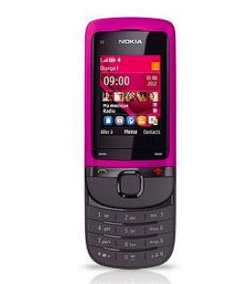Nokia C2-05 rose avec mobicarte vente flash Orange