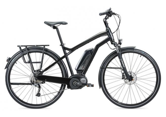 Sélection de vélos électriques en promotion - Ex : VTC Moustache Samedi 28 Black 2016 (taille L)
