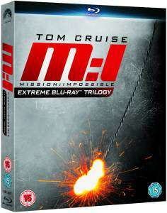 Coffret Blu-ray Mission Impossible Ultimate Trilogy
