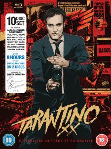 Coffret Blu-ray Tarantino 8 films (Uniquement en anglais)