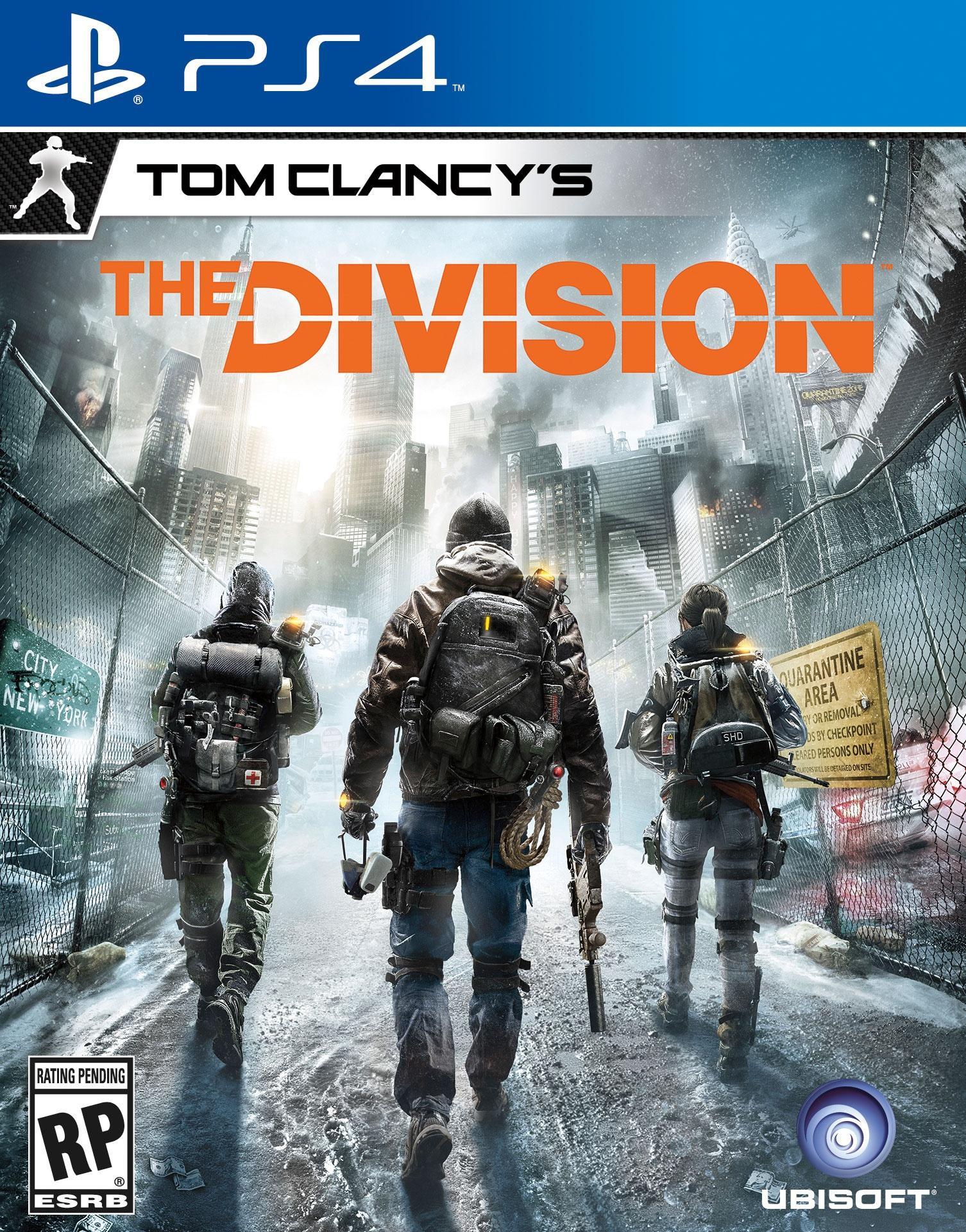 [PS Plus] Tom Clancy's The Division jouable gratuitement sur PS4 - à partir du 9 mars