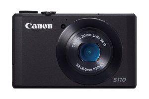 Appareil photo Canon Powershot S110 Wifi intégré - noir