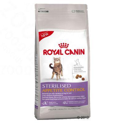 Réduction sur une sélection de produits alimentaires - Ex : Royal Canin Feline Sterilised Appetite Control 2 x 4 kg