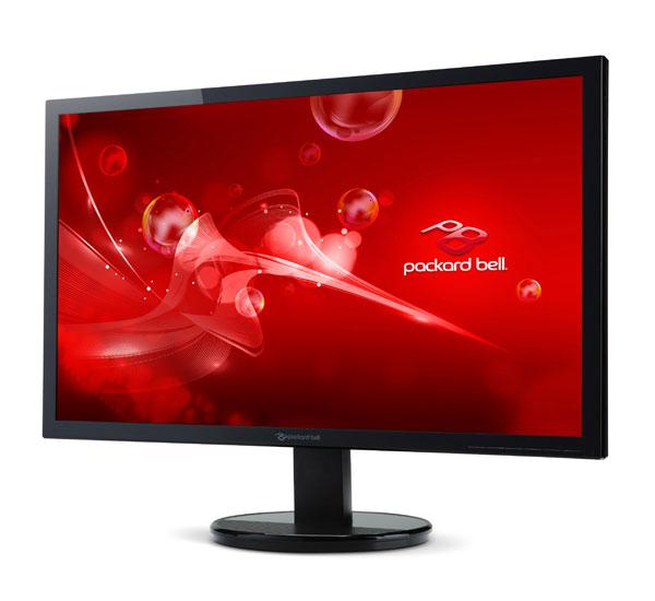 Ecran plat Packard Bell 243DBD 24'' LED Full HD - 5ms - DVI / VGA