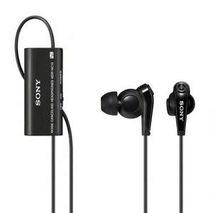 Ecouteurs intra-auriculaires Noise Cancelling Sony MDR-NC13
