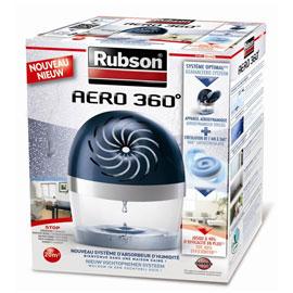 Deshumidificateur Rubson : 50% remboursé sur gamme Aero 360