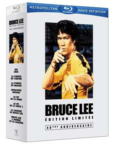 Bruce Lee L'intégrale - Coffret 6 films + 2 documentaires [Blu-ray]