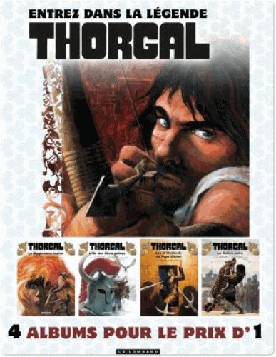 E-book Thorgal Intégrale - T1 à 4 (dématérialisé) gratuit