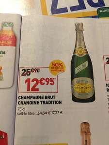 Champagne Brut Chanoine Tradition - 75cl