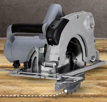 Scie circulaire Duro - 1500 W, 5000 trs/min